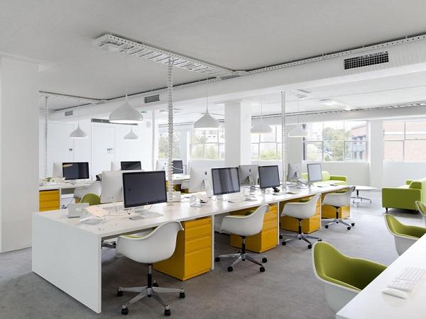 Các lỗi thường gặp trong thiết kế nội thất văn phòng